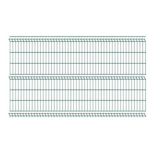 Przęsła i elementy ogrodzenia, Panel ogrodzeniowy Polargos 123 x 250 cm oczko 5 x 20 cm zielony