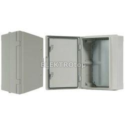 Szafka rozdzielcza herm.300x400x170mm IP65, drzwi nieprzeźroczyste SZAFKA ROZDZIELCZA HERM. 300 IP65