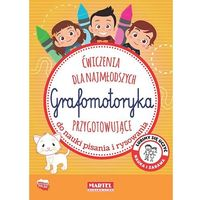 Literatura młodzieżowa, Grafomotoryka. Ćwiczenia dla najmłodzych przygotowujące do nauki pisania i rysowania - Gdula Adam - książka (opr. broszurowa)