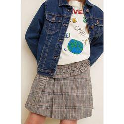 Mango Kids - Spódnica dziecięca Blanche 110-164 cm