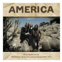 HIGHLIGHTS FROM HERITAGE: HOME RECORDINGS/DEMOS 1970-1973 - America (Płyta winylowa)