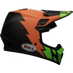 BELL KASK OFF-ROAD MX-9 STRIKE MATT INFRARED/GR/BL