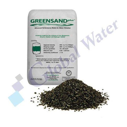 Złoże do filtrowania wody greensand plus marki Global water