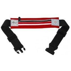 Pas sportowy ART APS-01G Podświetlany Czerwony