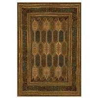 Dywany, Dywan wełniany SARAND brązowy 170 x 235 cm