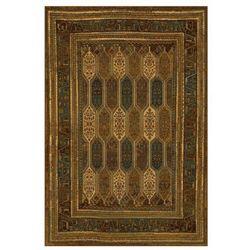 Dywan wełniany SARAND brązowy 170 x 235 cm