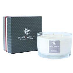 Purcell & Woodcock - 3 knoty Peony Rose & White Jasmin Świeca zapachowa