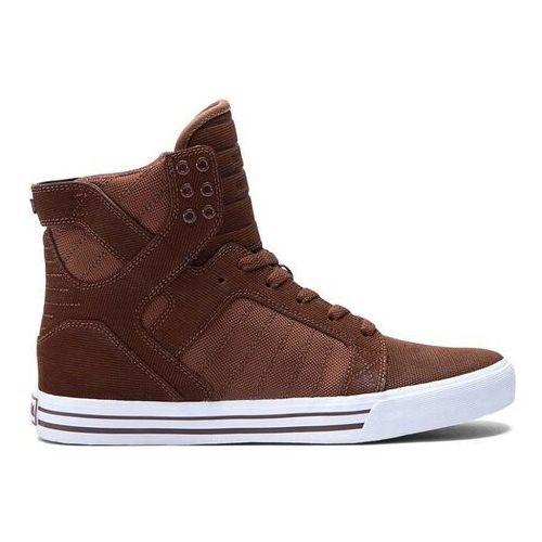 Męskie obuwie sportowe, buty SUPRA - Skytop Chestnut-White (CHN) rozmiar: 45.5