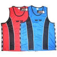 Pozostałe sporty walki, Koszulka bokserska TOP TEN - KBOX-TT1 - niebiesko-czarny