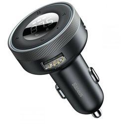Transmiter FM Bluetooth Baseus Ładowarka Samochodowa
