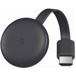 Transmiter TV GOOGLE Chromecast 3.0 Czarny DARMOWY TRANSPORT
