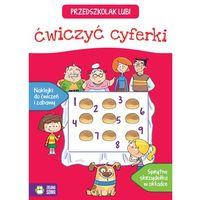 Książki dla dzieci, Przedszkolak lubi ćwiczyć cyferki - Opracowanie zbiorowe (opr. miękka)
