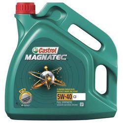 Castrol Olej silnikowy MAGNATEC 5W-40 4L