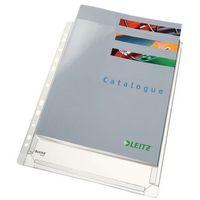 Koszulki, teczki, koperty, Koszulka na dokumenty Leitz poszerzana A4 przeźroczysta 170um (47563003)5szt.