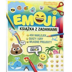 EMOJI Książka z zadaniami - Wydawnictwo Olesiejuk (opr. miękka)