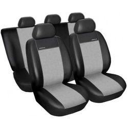Pokrowce na siedzenia skóra + alkantara Premium A