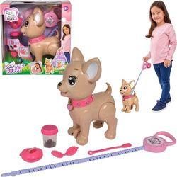 Simba Piesek Chi Chi Love Poo Poo Puppy robi kupkę