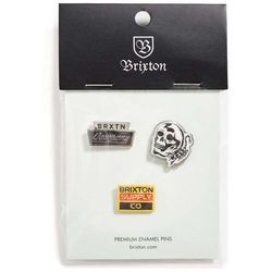 znaczek BRIXTON - Luker Pin Pack Multi (MULTI) rozmiar: OS