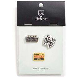 znaczek BRIXTON - Luker Pin Pack Multi (MULTI)