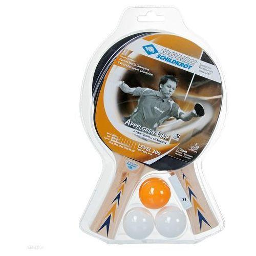 Tenis stołowy, Zestaw 2 rakietek do tenisa stołowego DONIC SCHILDKROT APPELGREN