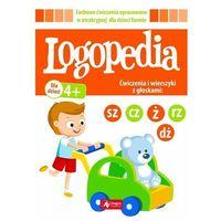 Książki dla dzieci, Logopedia ćwiczenia I wierszyki z głoskami sz cz dż ż/rz (opr. broszurowa)