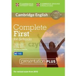 Complete First for Schools Presentation Plus DVD-ROM (Płyta DVD)