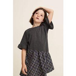 Mango Kids - Sukienka dziecięca Emily 110-152 cm
