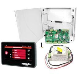 Zestaw alarmowy OptimaGSM-SET-TPR-4B (centrala, obudowa, zasilacz, panel czarny) ROPAM