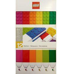 51644 KOLOROWE FLAMASTRY 12 SZT - LEGO GADŻETY wyprzedaż