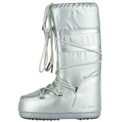 Moon Boot MB Classic Plus Met Snow boots Srebrny 31-34 Przy zakupie powyżej 150 zł darmowa dostawa.