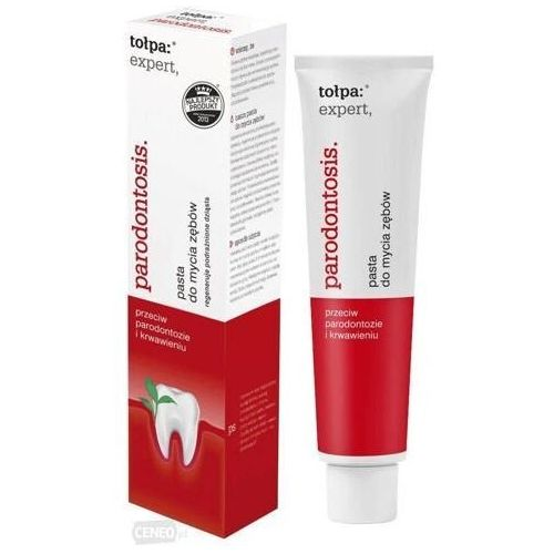 Pasty do zębów, TOŁPA EXPERT PARODONTOSIS Pasta do mycia zębów - 75 ml