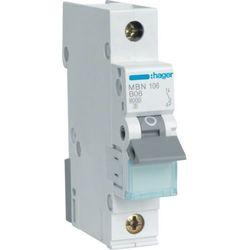 Hager MCB Wyłącznik nadprądowy Icn=6000A 1P C 25A MCN125E