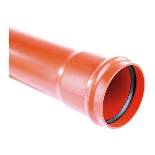 Rury i rurki hydrauliczne, Rura PCV Pipelife 200 x 4,9 x 2000 mm