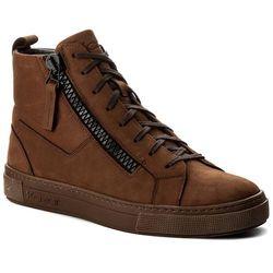 Sneakersy KAZAR - Leo 27410-03-02 Brązowy