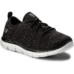 Buty SKECHERS - Bold Move 81673L/BKRG Black/Rose Gold