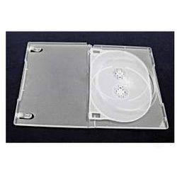 Pudełko na 3 DVD bezbarwne matowe 14 mm z Tray`ą