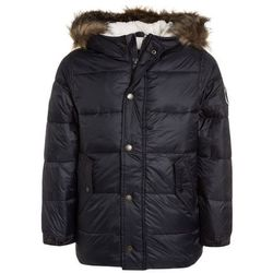 Abercrombie & Fitch ELEVATED PUFFER Płaszcz zimowy black