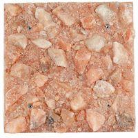 Pozostały wystrój ścian, Panel solny płyta solna saltino różowa 50x50 12kg