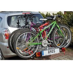 Tytan 4 - Amos - Bis platforma Bagażnik rowerowy na hak + DOSTAWA GRATIS | SKLEPY WARSZAWA ul. Grochowska 172, ul. Modlińska 237