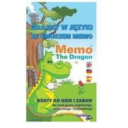 Grajmy w Języki ze Smokiem Memo. Karty do Gier i Zabaw do Nauki Angielskiego, Niemieckiego i Hiszpańskiego