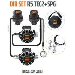 Tecline Dir Set R5 TEC2 z manometrem - EN250:2014