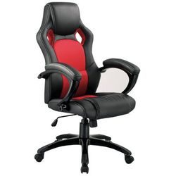 Fotel gamingowy Signal Q-107 czarno-czerwony, DOSTAWA GRATIS Napisz otrzymasz 50 zł rabatu