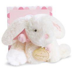 Pluszowy królik w kolorze różowym mały
