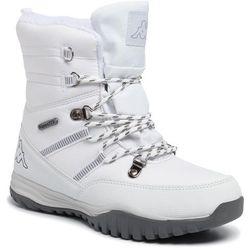 Śniegowce KAPPA - Balto Tex 242364 White/Grey 1016