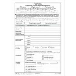 Protokół z okresowej kontroli obiektu budowlanego [Pu/Pb-55] - wersja elektroniczna