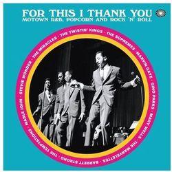 For This I Thank You - Motown R&b Popcorn And Rock'n'roll - Różni Wykonawcy (Płyta winylowa)
