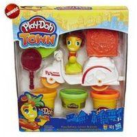 Ciastolina, Ciastolina HASBRO Play-Doh Town Mini Pojazdy B5959 WB4
