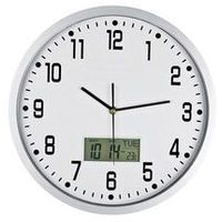 Zegary, Zegar ścienny solid z datą i termometrem