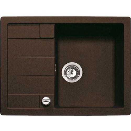 Zlew astral 45 b-tg czekoladowy brąz (40143512) (zamów wycięcie otworów gratis) marki Teka