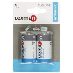 Bateria ALKALICZNA INTENSIVE LR14/C 2 SZT. LEXMAN